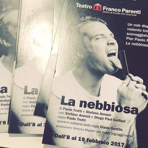 La Nebbiosa. P.P.Pasolini. Milano