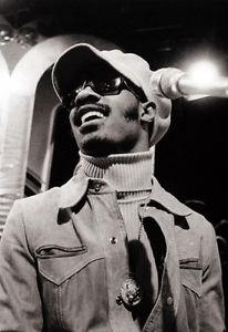 Stevie Wonder. Overjoyed.