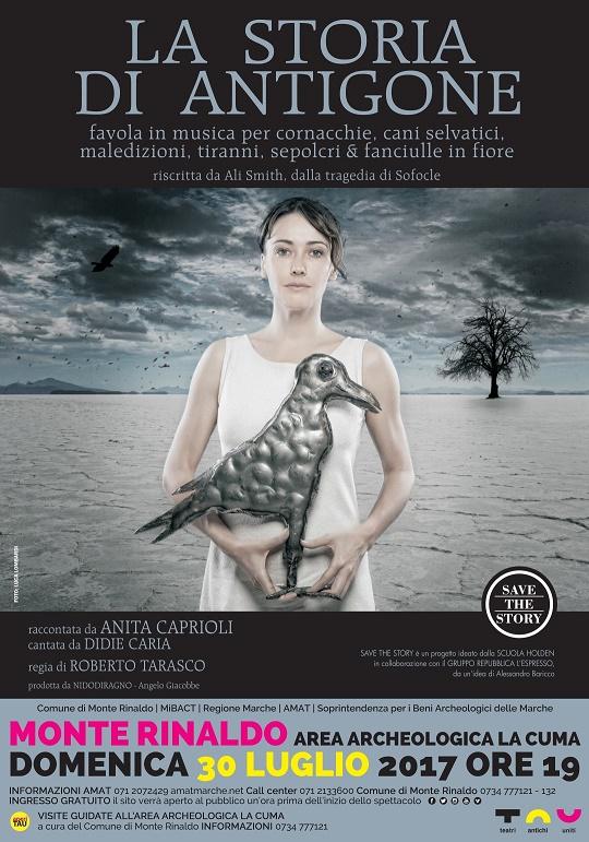 La storia di Antigone.