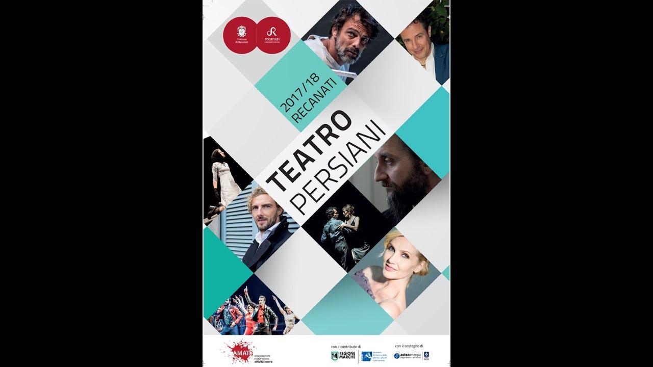 Teatro Persiani di Recanati. Winter 2017/18.