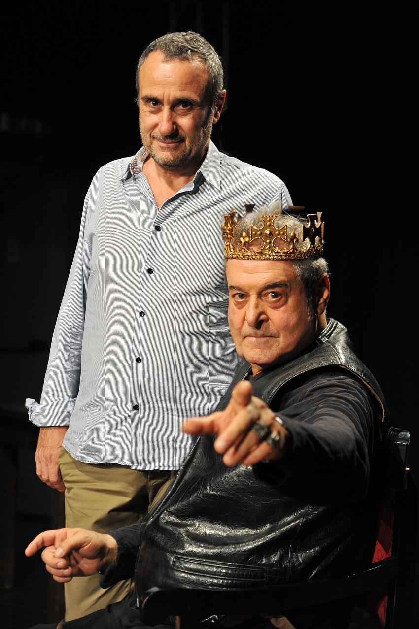 Re Lear. Teatro Argentina Roma.