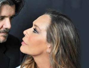 Il bacio. Barbara De Rossi.
