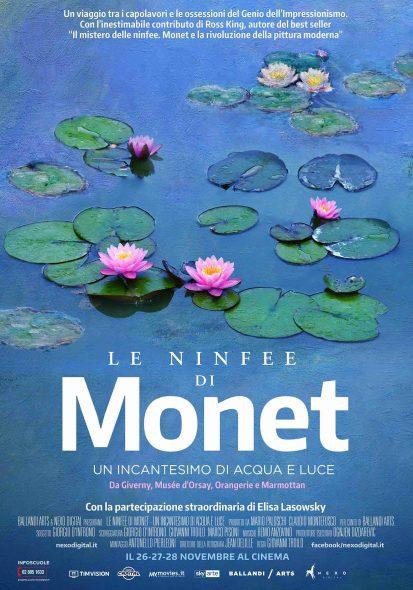 Le Ninfee di Monet. Un incantesimo di acqua e luce.