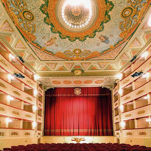 Teatro Persiani Recanati.