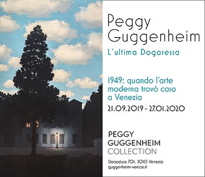 Peggy Guggenheim. L'ultima Dogaressa. Venezia.