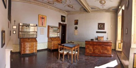 Le stanze di Giacomo Leopardi.