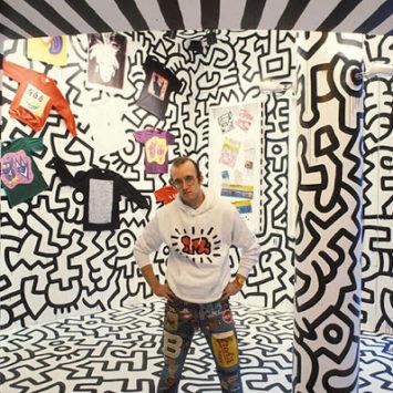 Keith Haring. Conosciuto da tutti.