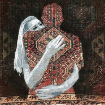 Nafir artista di strada iraniano.