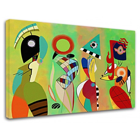 Kandinsky composizione di forma e colore.