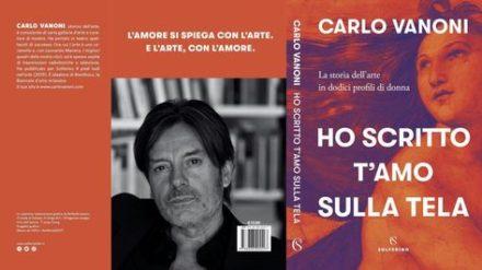 """""""Ho scritto t'amo sulla tela"""". Carlo Vanoni."""