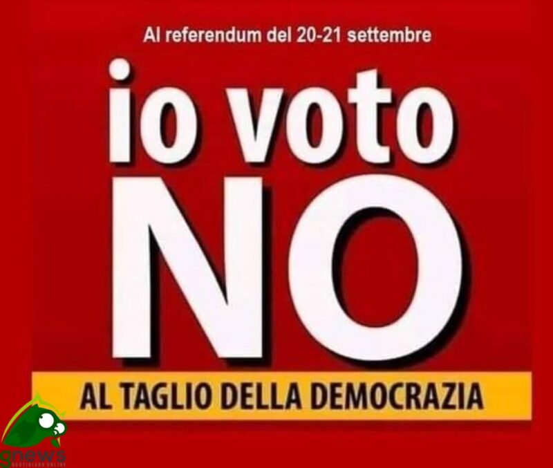 Referendum 20-21 settembre 2020. Perchè NO.