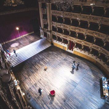 Guerra e Pace. Teatro Morlacchi Perugia.